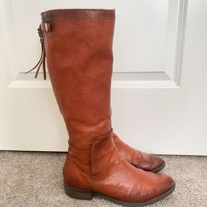 Genuine leather boots from Browns